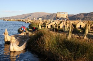 Reed Islands on Lake Titicaca