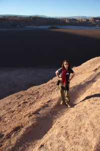 Leanne on our little hike in Northern Chile