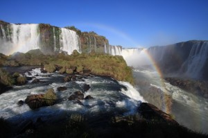 Iguacu Falls, the Brazilian side