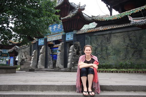 Leanne at Fengdu