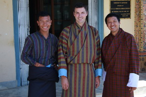 Dawa, Michael, and Wangchuk