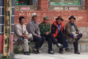 locals in Shangri-la